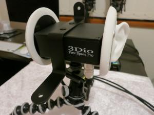 3Dio Free Space Pro Binaural Microphone