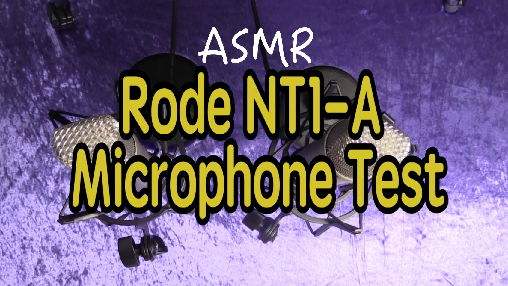 ASMR: Rode NT1A Microphone Test – Softly Spoken with Mixed Sounds