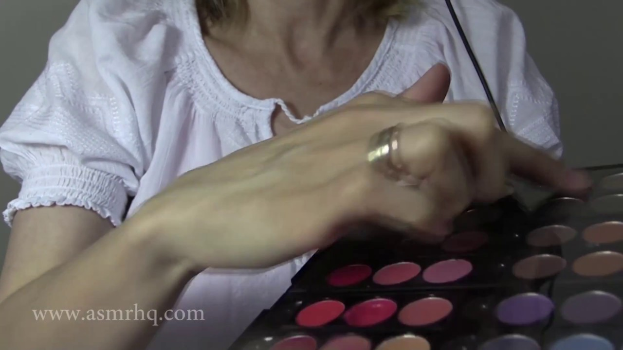 ASMR Makeup Role Play – Softly Spoken, Binaural